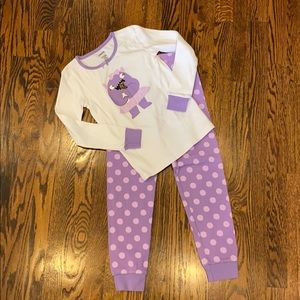 Gymboree girls Cookie Monster Pajamas Size 7